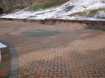 Omnistone driveway with circle.